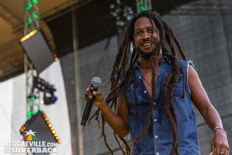 Stephen Newland, Steel Pulse, New Kingston @ Ostroda Reggae Festival 2017