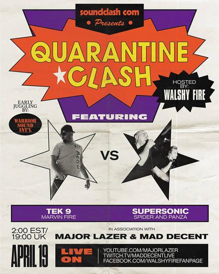 Quarantine Clash 2020 - Tek 9 vs. Supersonic