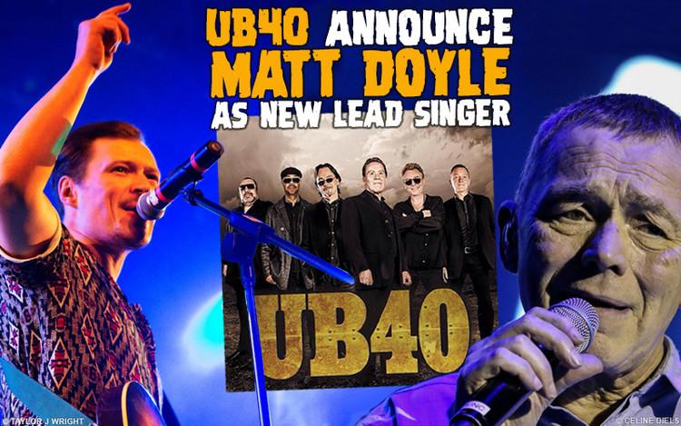 UB40 Announce Kioko's Matt Doyle As New Lead Singer