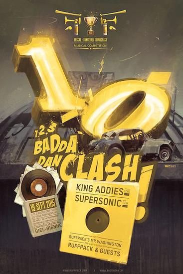 1-2-3 Badda Dan Clash 2015