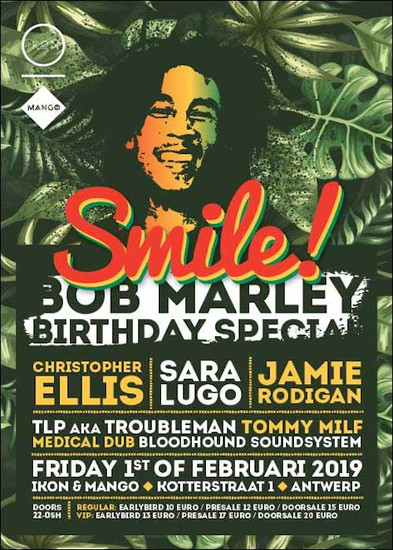 Smile! - Bob Marley Birthday Special 2019