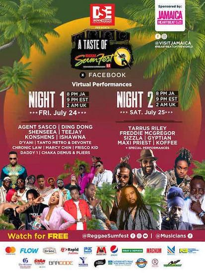 A Taste Of Reggae Sumfest 2020