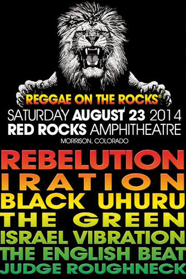 Reggae On The Rocks 2014