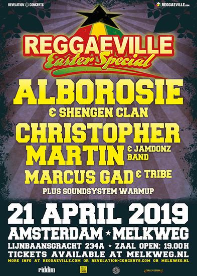 Reggaeville Easter Special - Amsterdam 2019