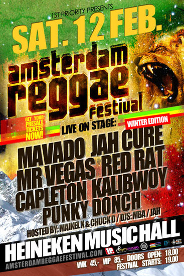 Amsterdam Reggae Festival - Winter Edition 2011