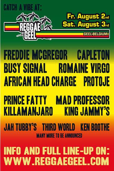 Reggae Geel 2013