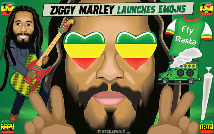 Ziggy Marley Launches Emojis Line