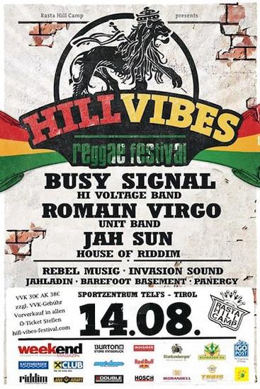 Hill Vibes Reggae Festival 2014
