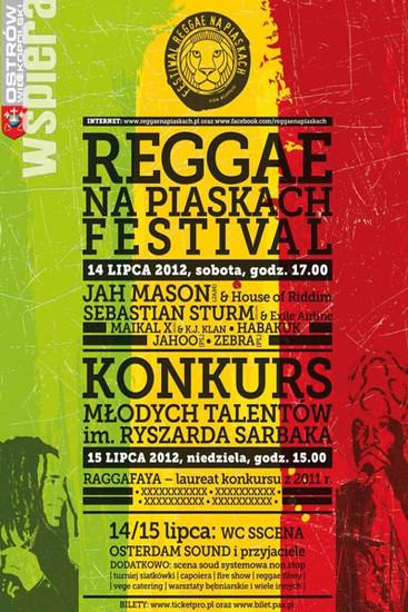 Reggae na Piaskach 2012