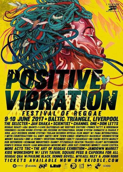 Positive Vibration 2017 - Festival Of Reggae
