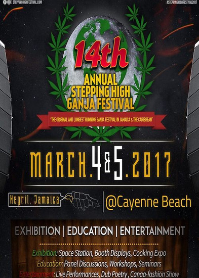 Stepping High Ganja Festival 2017