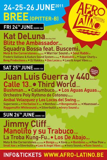 Afro Latino Festival 2011