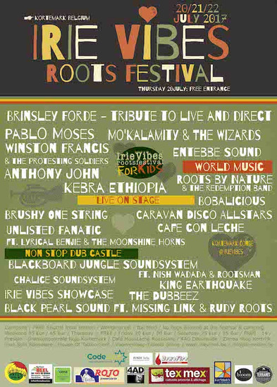 Irie Vibes Roots Festival 2017