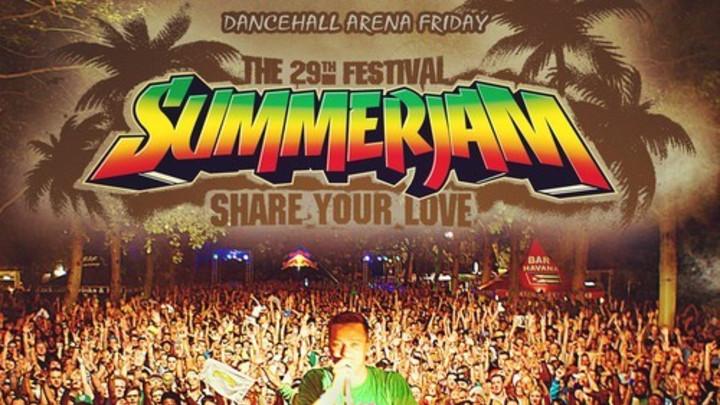 Supertuff - Warmup @ Summerjam Dancehall Arena 2014 [7/4/2014]