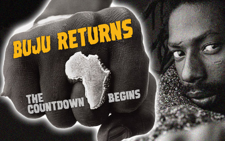 Buju Banton Returns - The Countdown Begins... December 8, 2018