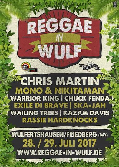 Reggae In Wulf 2017