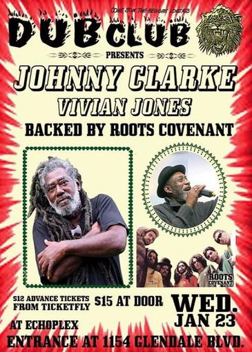 Johnny Clarke 1-23-2019