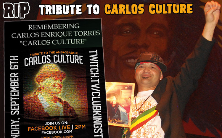 Tribute to Reggae Ambassador Carlos Culture RIP