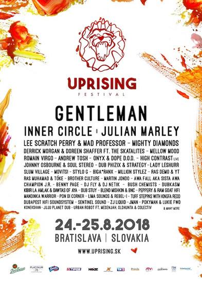 Uprising Reggae Festival 2018