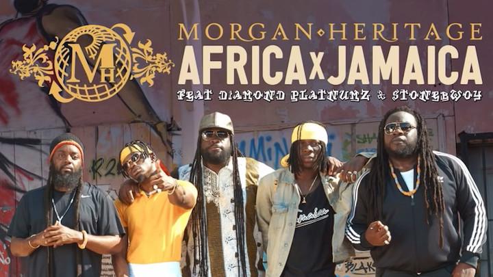 Morgan Heritage feat. Diamond Platnumz & Stonebwoy - Africa Jamaica [10/19/2018]