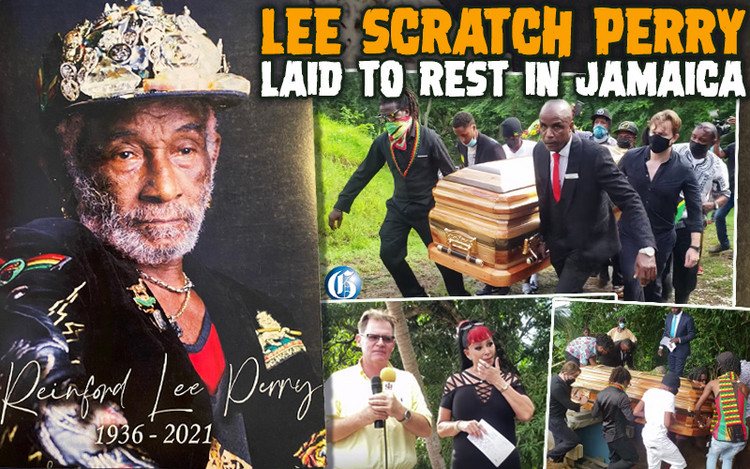 Lee Scratch Perry Laid To Rest in Jamaica