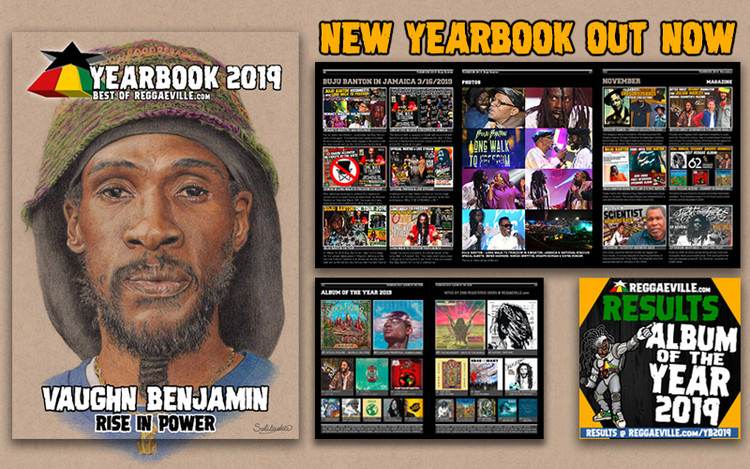 Reggaeville Yearbook 2019 - Vaughn Benjamin Tribute