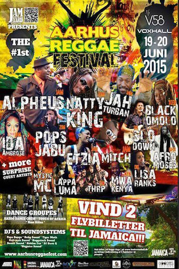 Aarhus Reggae Festival 2015