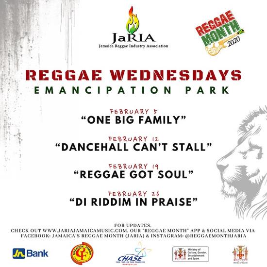 Reggae Wednesday - Di Riddim In Praise 2020