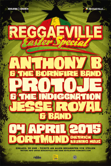 Reggaeville Easter Special - Dortmund 2015