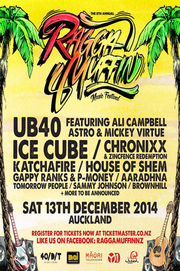 Raggamuffin Festival New Zealand 2014