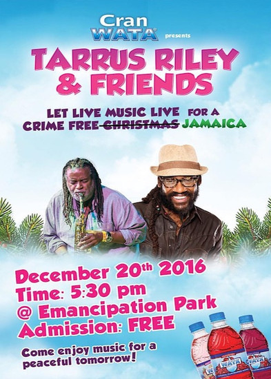 Tarrus Riley & Friends 2016