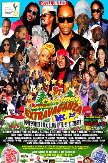 Christmas Reggae Extravaganza 2012
