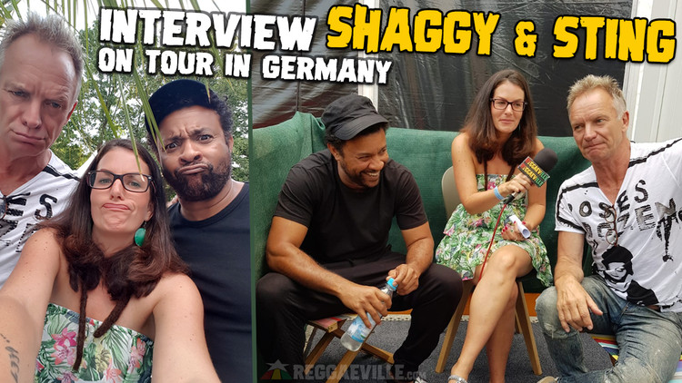 Sting & Shaggy - Interview @ Rosenheim Sommerfestival 2018