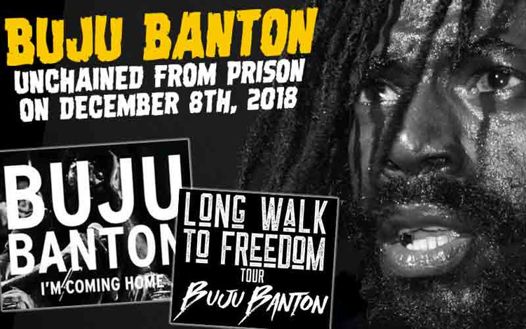 Buju Banton Unchained From Prison On December 8th 2018