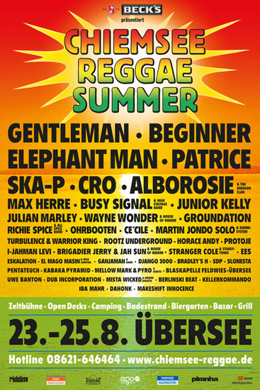 Chiemsee Reggae Summer 2013