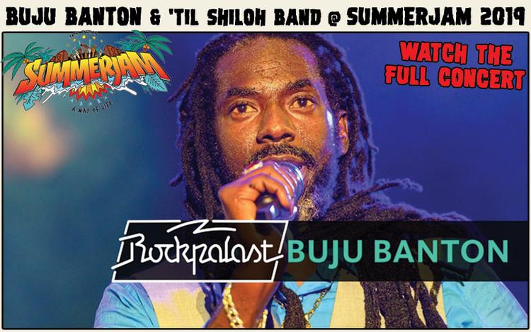 Full Concert - Buju Banton & 'Til Shiloh Band @SummerJam 2019