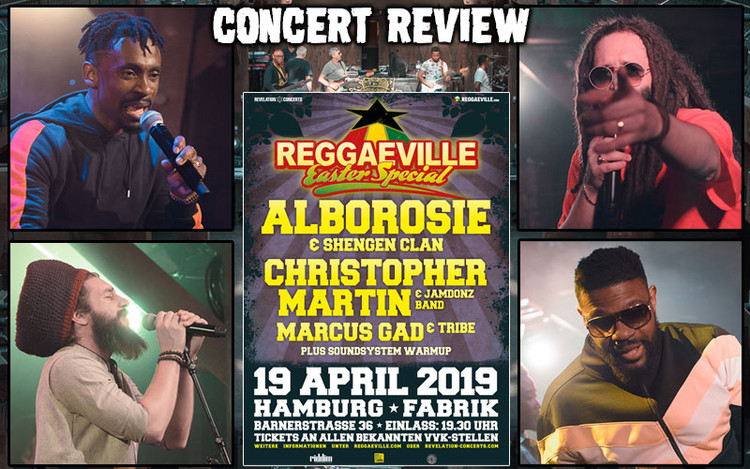 Concert Review: Reggaeville Easter Special in Hamburg, Germany 2019