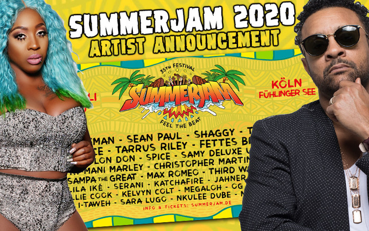 Spice, Shaggy, Sean Paul, Ky-Mani Marley @ SummerJam 2020
