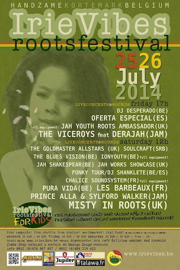 Irie Vibes Roots Festival 2014