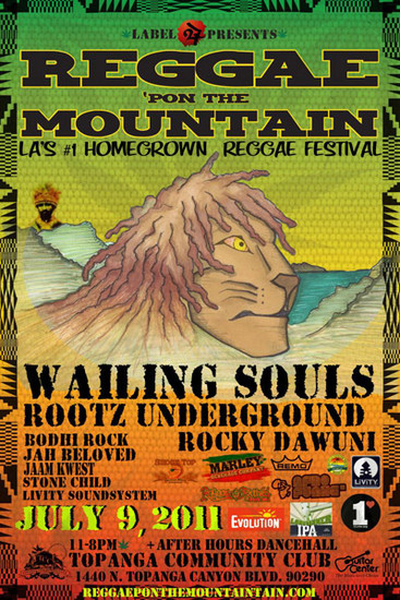 Reggae Pon the Mountain 2011
