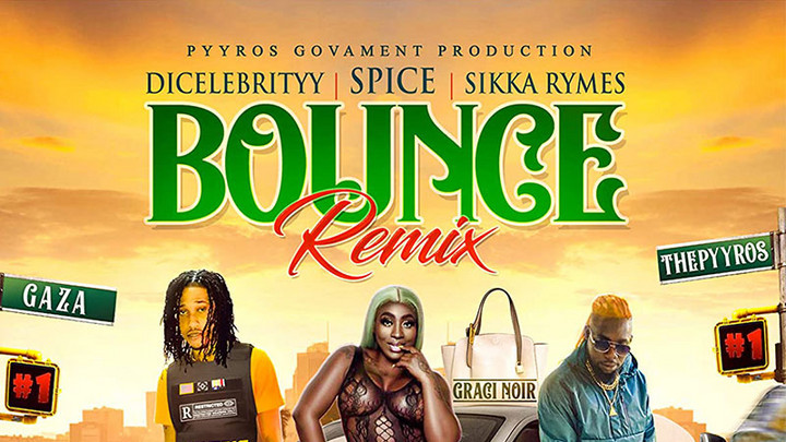 DiCelebrityy feat. Spice & Sikka Rymes - Bounce (RMX) [11/13/2020]