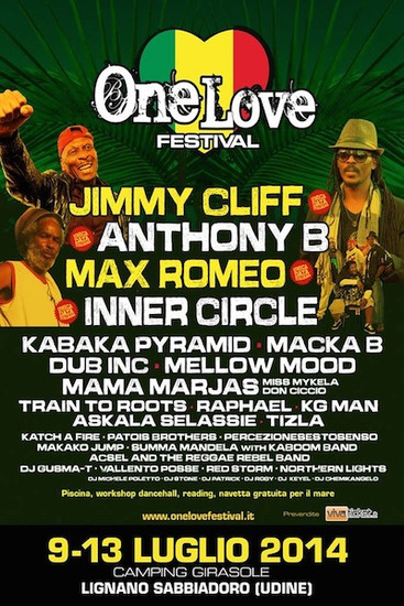 One Love Festival 2014 - Italy