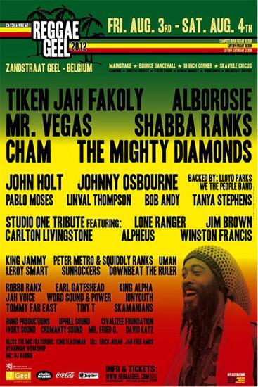 Reggae Geel 2012