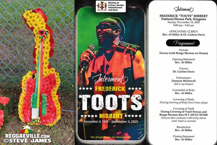 Toots Hibbert Interment