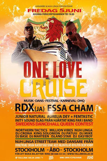 One Love Cruise 2015 - Sweden