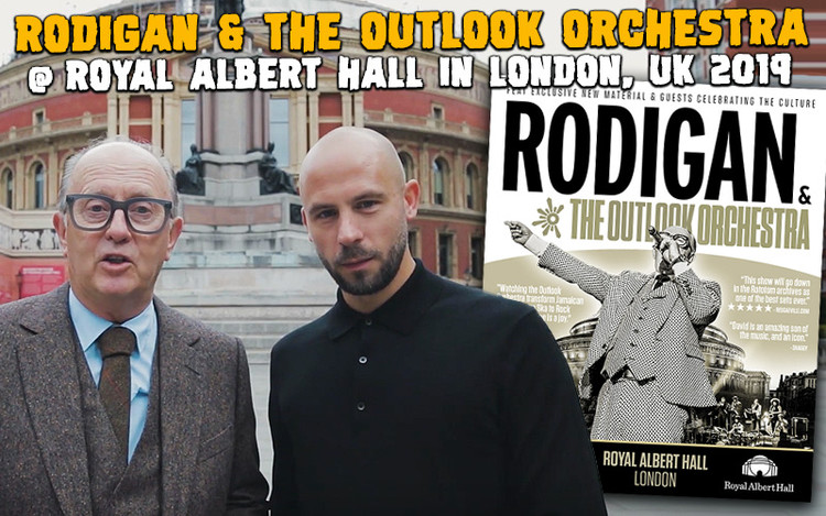 Rodigan & The Outlook Orchestra Play The Royal Albert Hall in London 2019
