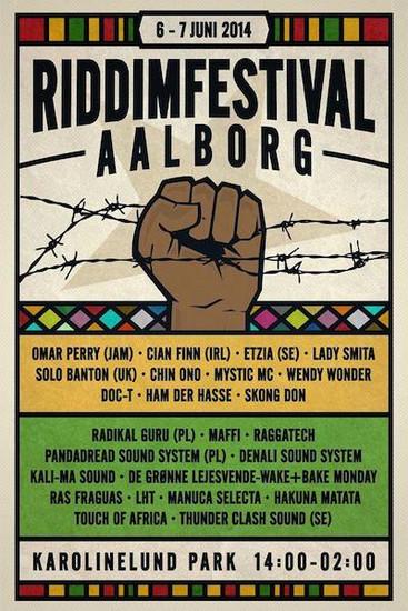 Riddimfestival Aalborg 2014