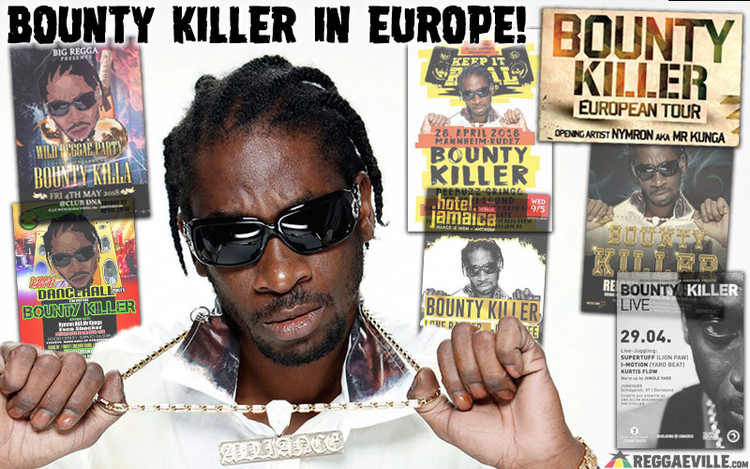 Bounty Killer On Tour In Europe