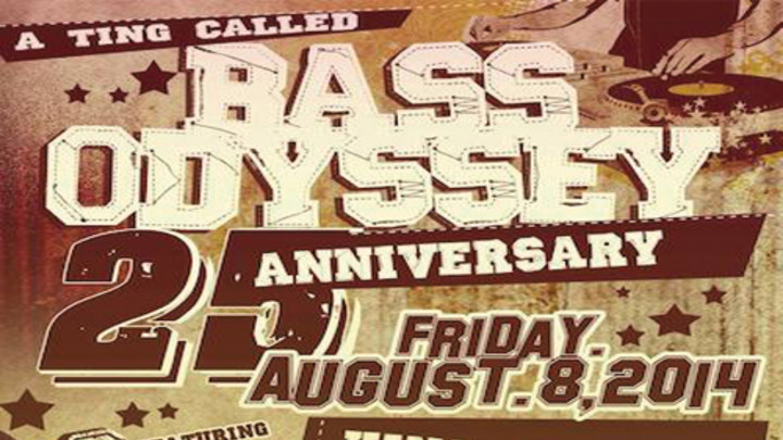 Jah Bouks - Angola ( Bass Odyssey 25th Anniversary Special) [8/12/2014]