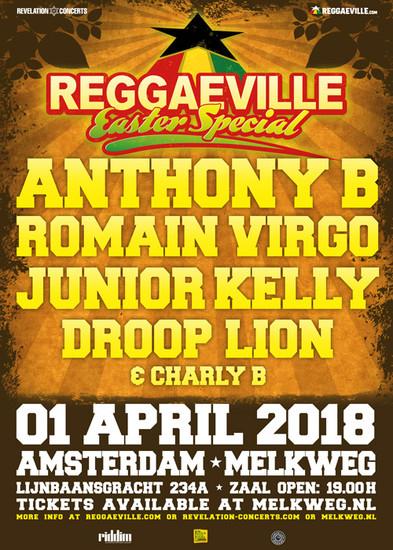 Reggaeville Easter Special - Amsterdam 2018